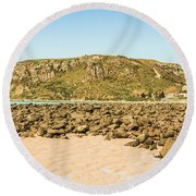 Stanley Seascape Round Beach Towel