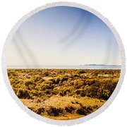 Stanley Wide Country Round Beach Towel