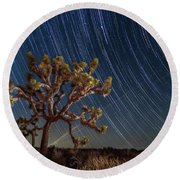 Star Spun Round Beach Towel
