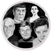 Star Trek Crew Round Beach Towel