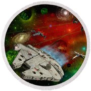 Star Wars Round Beach Towel