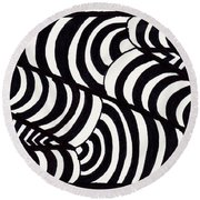 Stare Round Beach Towel