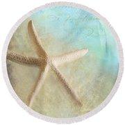 Starfish Round Beach Towel