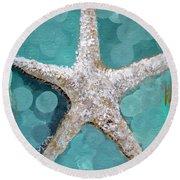 Starfish Goldie Round Beach Towel