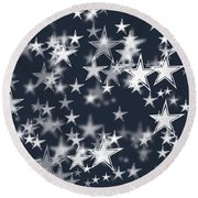 Stars Of America Round Beach Towel