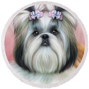 Stassi The Tzu Round Beach Towel