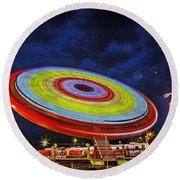 State Fair Round Beach Towel