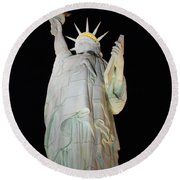 Statue Of Liberty.... Not Round Beach Towel