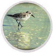 Staying Focused Round Beach Towel