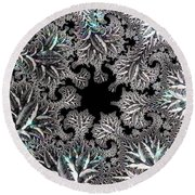 Sterling Forest Round Beach Towel by Susan Maxwell Schmidt