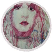 Stevie Nicks - Gypsy  Round Beach Towel