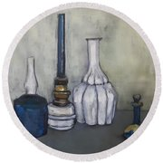 Still After G. Morandi Round Beach Towel