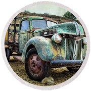Still Truckin' Round Beach Towel