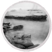 Round Beach Towel featuring the photograph Stillness And Strength by Parker Cunningham