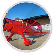 Stinson Reliant Rc Model 03 Round Beach Towel