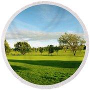 Stirling Golf Club 14th Round Beach Towel