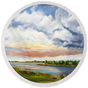 Stoker's  Swift Creek Round Beach Towel