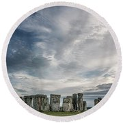 Stone By Stone Round Beach Towel