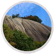 Stone Mountain Round Beach Towel