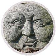 Stoneface Round Beach Towel