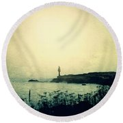 Stories From The Sea Round Beach Towel