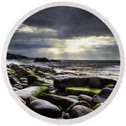 Storm's End Round Beach Towel