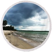Storms Round Beach Towel