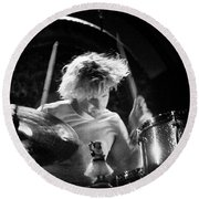 Stp-2000-eric-0923 Round Beach Towel by Timothy Bischoff