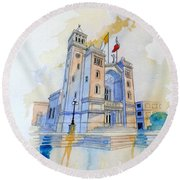 St.peter In Chains II Round Beach Towel