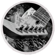 Strat S Phere Round Beach Towel by Kevin Cable