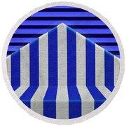 Stripes Round Beach Towel