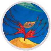 Suantraigh Round Beach Towel