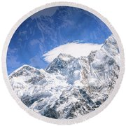 Sublimity Round Beach Towel