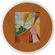 Subteranian  Round Beach Towel by Rod Ismay
