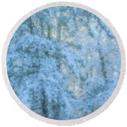 Sugar Morning #2 Round Beach Towel