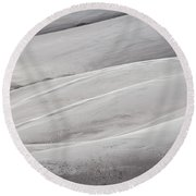 Sullied Round Beach Towel