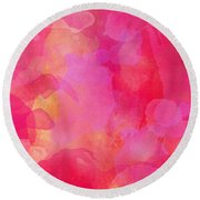 Summer 01 Round Beach Towel