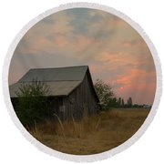 Summer Barn Round Beach Towel