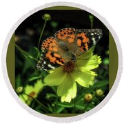 Round Beach Towel featuring the photograph Summer Beauty by Bruce Carpenter