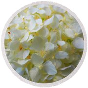 Summer Blossoms Round Beach Towel