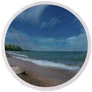 Summer Breeze  Round Beach Towel