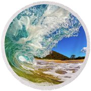 Summer Days Round Beach Towel by James Roemmling