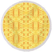 Summer Daze Round Beach Towel