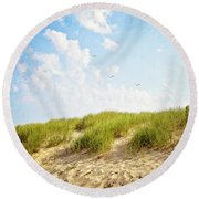 Summer Dunes Round Beach Towel by Melanie Alexandra Price