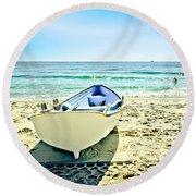 Summer Escape Round Beach Towel