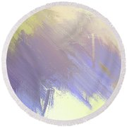 Summer Iv Round Beach Towel