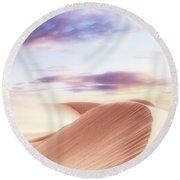 Summer Sands Round Beach Towel