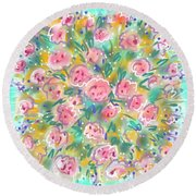 Summer Scarf Round Beach Towel