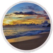 Round Beach Towel featuring the photograph Summer Solstice 2016 by Craig Wood