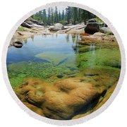 Round Beach Towel featuring the photograph Summer Sweet Spot by Sean Sarsfield